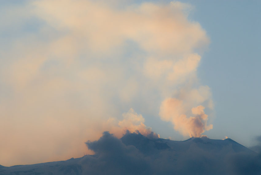 Etna en pastels